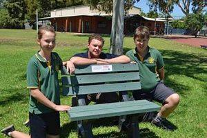 Presentation Kimberley recycled plastic seat
