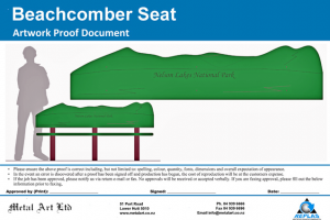 Beachcomber Seat design proof