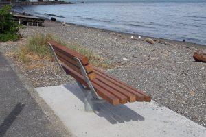 Seaview Seat at Days Bay